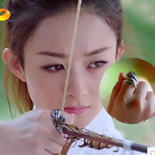 Chinese Classical Women Ladies Ring Princess & Agents TV Drama Program 楚乔传