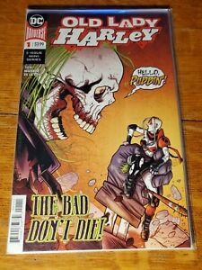 OLD LADY HARLEY # 1 Marvel comic book  HARLEY QUINN nm