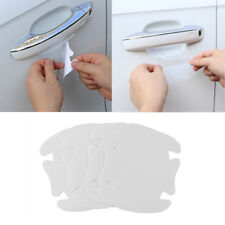 4pcs Clear Invisible Car Door Handle Paint Scratch Protector Guard Film Sheet