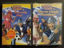 Lazy Town - Records Day & Sports Candy Festival (DVD, 2006) Nick Jr. SEALED OOP