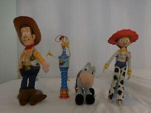 "Disney Toy Story Woody Plush 16"" + Jessie + Bullseye + Woody toy"