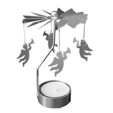 Rotating Spinning Carrousel Tea Light Candle Holder Center Wedding Decoration_GG Angel