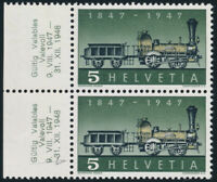 SCHWEIZ 1947, MiNr. 484 II, Plattenfehler, tadellos postfrisch, Mi. 85,-