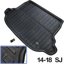 Boot Liner Rear Trunk Floor Mat Cargo Tray Carpet Fit For Subaru Forester 14-18