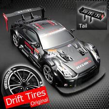 1:16 58km/h RC Drift Racing Car 4WD 2.4 ghigh velocidad GTR Control remoto * F