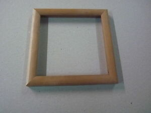 "Photo Frame Natural Cherry 6"" square"
