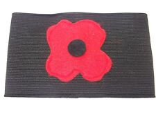 REMEMBRANCE DAY POPPY ARMBAND