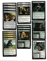 Magic the Gathering-RTP-60 Card Deck-MTG-RARES-Love Struck Beast-Green-White