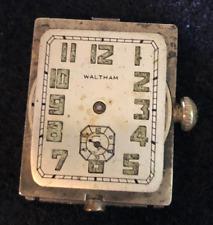 Movement Parts Rectangle 10l 15j Usa Vintage 1923 Lady Waltham Model L-10 Watch