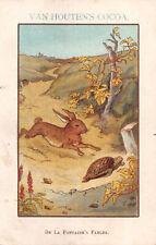 R299710 Van Houten Cocoa. De la Fontaine Fables. Postcard