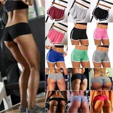 Women Sports Shorts Fitness Gym Yoga Workout Ladies Hot Pants Short Bottoms