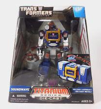 Transformers Generation 1 Titanium Series Die Cast SOUNDWAVE New in Package