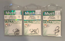 5202 Mustad ST-P Size 4 Shrimp Tempter-Pink 3 packs