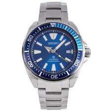 SEIKO SRPB09 SRPB09K PROSPEX BLUE LAGOON SAMURAI Mens Divers Automatic Watch