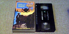 DOCTOR WHO CITY OF DEATH TOM BAKER BBC tv UK PAL VHS VIDEO 1991 DOUGLAS ADAMS