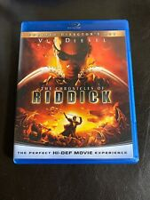 The Chronicles of Riddick (Blu-ray Disc, 2009, Unrated Director's Cut)
