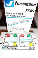 Viessmann 5545 Tasten-Stellpult 4-begriffig #NEU in OVP#