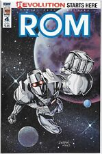 IDW ROM 4 SUB-C variant cover D featuring GI Joe *I USE FREE COMBINED SHIPPING!*