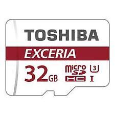 Toshiba Exceria M302 MicroSDHC Class 10 32GB Memory Card - THNM302R0320EA (2 Pack)