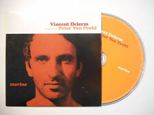 VINCENT DELERM en duo PETER VON POEHL : MARINE ♦ CD SINGLE PORT GRATUIT ♦