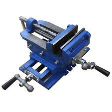 Hfsr 5 Cross Sliding Drill Press Vise Slide Vice Heavy Duty Shop Grip Tools