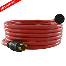 Generator Extension Cord 20 Feet Max Power Ul Listed Cord Set Pure Copper