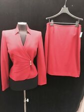 TAHARI BY ARTHUR LEVINE SUIT/NEW WITH TAG/BURGUNDY/SIZE 6/LINED/RETAIL$280