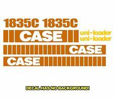 Case 1835C New Skid Steer Set Vinyl Decal Sticker Aftermarket