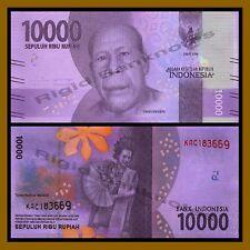 Indonesia 10000 (10,000) Rupiah, 2016 P-NEW New Design UNC