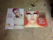 2 CD lp PINK PROMO Poster music take me home taylor swift katy perry. music oop