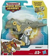 2019 Transformers Rescue Bots Academy GRIMLOCK Dinobot to Motorcycle playskool