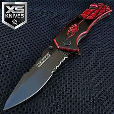TAC FORCE Spider-Man Spring Assisted Folding Pocket Knife W/ Glass Breaker