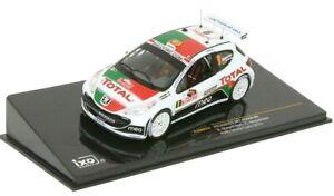 IXORAM424 - Voiture du rallye de Monte carlo de 2010 PEUGEOT 207 S2000 N°9 équip