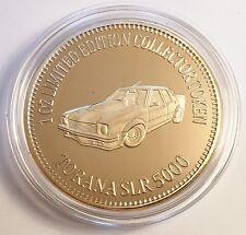 """TORANA SLR 5000"" Muscle Car Series 1 0z HGE 999 24k Gold Coin/token LTD 2,500"