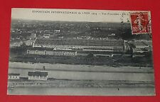 CPA CARTE POSTALE 1914 FRANCE LYON EXPO INTERNATIONALE VUE D'ENSEMBLE