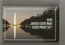 2020 s 10-piece silver proof set + 2020 w reverse Jefferson nickel NGC PF 69