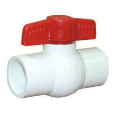 """PVC Ball Valve Fitting ID 1"""" residential commercial industrial agricultural  CY"""