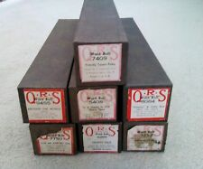 Lot of 7 Vintage QRS Player Piano Word Rolls Bought New 1 Owner Free Shipping