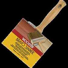 """5-1/2"""" BRAVO STAINER BRISTLE POLYESTER STAIN BRUSH- Wooster- 8 Brushes $152.00"""