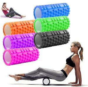 Fitex Fitness Yoga Massager Physico Foam Muscle Roller Trigger Point Deep Tissue