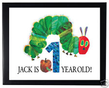 1 The Very Hungry Caterpillar Party Favor 8x11 inch Personalized Wall Print