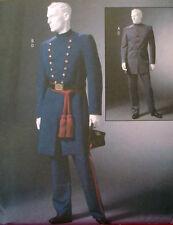 McCalls 4745 Men's CIVIL WAR Costumes Reenactment PLUS SZ XL-3XL Sewing Pattern