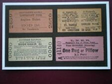 POSTCARD TICKETS FROM DOWN BY THE SEA