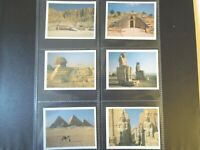 Tom thumb WONDERS ANCIENT WORLD buildings monument set cards Tobacco Cigarette