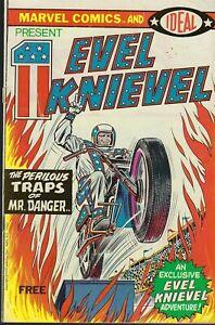 Marvel Comics & Ideal Present Evel Knievel (Marvel-1974) #1