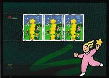 Briefmarken CEPT 2000 Gemeinschaftsausgaben Portugal-Madeira Block 20 FDC-gest.