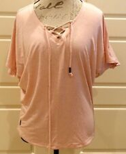 Lole - soft pink short sleeve top - Size M