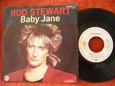 Rod Stewart-Baby Jane/Ready Now classe German Warner 45