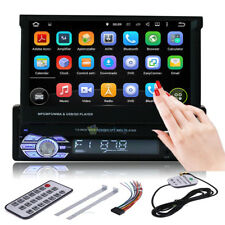"HD 7"" Single 1DIN Car MP3/MP5 Player GPS Navigation Bluetooth Touch Stereo Radio"