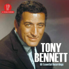 Tony Bennett 60 Essential Recordings CD (2018) Gift Idea Best of 3cd